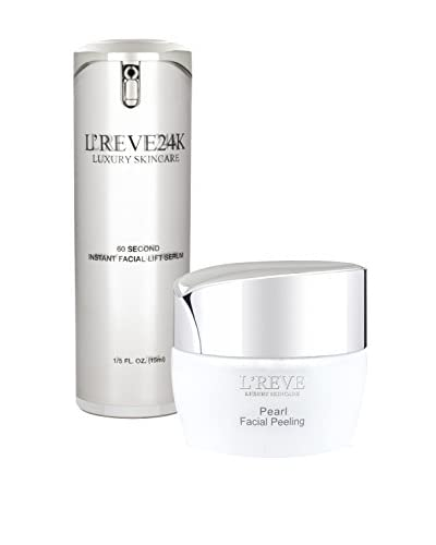 L'Reve Women's 60 Second Instant Lifting Serum and Facial Peeling Gel As You See