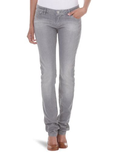Roxy - Pantalones vaqueros para mujer, tamaño 30 UK, color gris denim