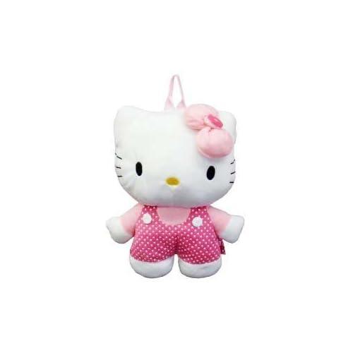 Hello Kitty Plush Backpack Polka Dot Jumper Toys & Games