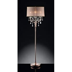 Amazon.com: 62'' H Rosie Crystal Floor Lamp: Home Improvement
