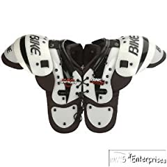 Buy Bike Rattler BYSH12 Extended sternum YTH football shoulder pads S 80-99 lbs. NEW by Bike