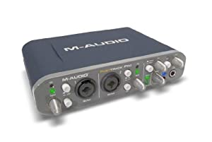 M-Audio Fast Track Pro 4x4 Mobile USB Audio/MIDI Interface with Preamps