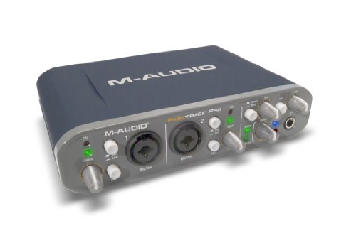 M-Audio Fast Track Pro 4x4 Mobile USB Audio/MIDI