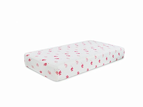 Aden + Anais Crib Sheet, Girls-N-Swirls