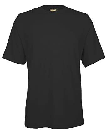 Mens Breathable Premium T Shirts Sizes XS to 4XL - WORK CASUAL SPORTS LEISURE (XS / EXTRA SMALL, BLACK)