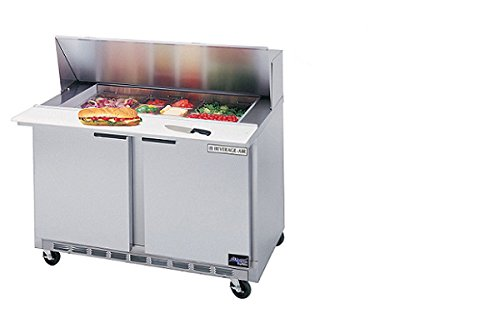"Beverage-Air Commercial 48"" Sandwich Prep Table Spe48-08"