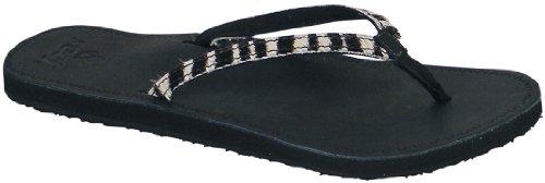 Reef Women'S Skyla Safari Flip Flop Sandal,Black/Zebra,7 M Us front-1046418