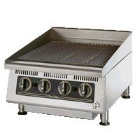 "Star Mfg. Ultra-Max 24"" Radiant Gas Char-Broiler"