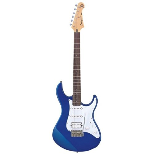 Yamaha Pac012 Pacifica Hss Double Cutaway Electric Guitar With Tremolo - Blue