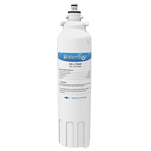 Waterdrop Refrigerator Water Filter Replacement for (WD-LT800P) [Package 1] NEW