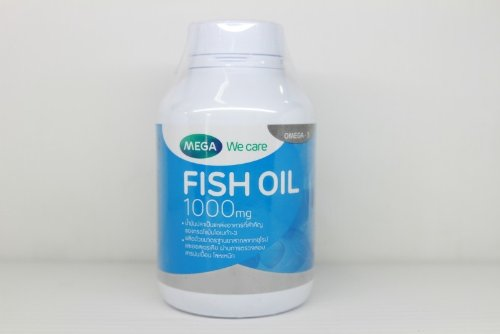 Mega We Care Fish Oil 1000 Mg 200 Capsules. [Get Free Herbal Lozenges]