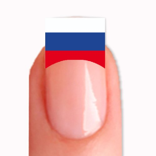 FRENCH Nailsticker Nail Tattoo Sticker WM 2014 Fussball Weltmeisterschaft WM-34 Russland