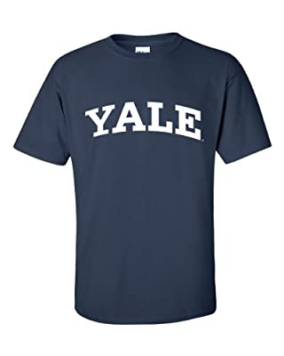 NCAA Yale University Bulldogs T-Shirt, XX-Large, Navy
