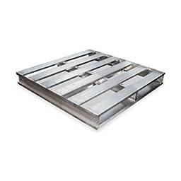 Aluminum Pallet, 48L X 48 W X 6 In H
