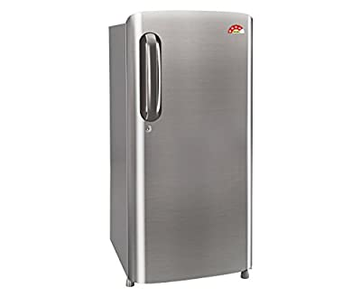LG GL-B201APZL.APZZEBN Direct-cool Single-door Refrigerator (190 Ltrs, 4 Star Rating, Shinny Steel)