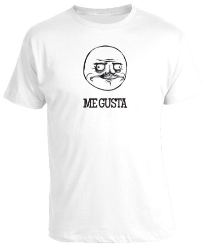 Me Gusta - Funny Internet Meme Rage Face Geeky Nerdy Mens T-Shirt