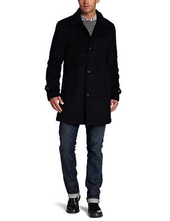Kenneth Cole Men's Willard Casual Coat, Black, Medium