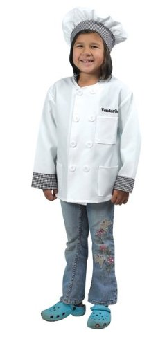 Childrens Factory Chef Career Costume