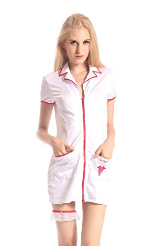 JBYYSM Women'S Lingerie 3 Piece Nurse Costume