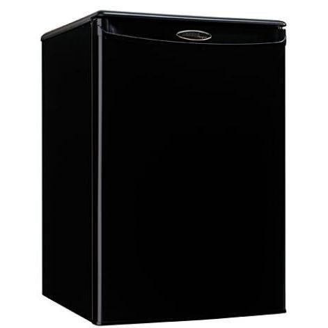 Danby DAR259BL 2.5-Cu. Ft. Designer Compact All Refrigerator, Black