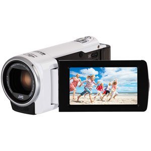 Jvc Gz-E100Wu Full Hd Everio Camcorder, White (Us Version)