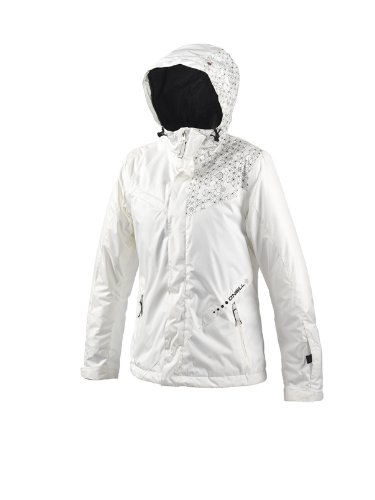 O'Neill 52 Ayame Women's Snow Jacket - Powder White, XX-Large