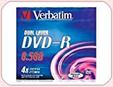 Verbatim DVD-R 8.5Gb 4x D/L Pack 5 No 43543