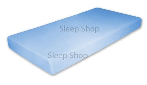 Blue - 7 Inch Memory Foam Mattress for Kids - Twin Size