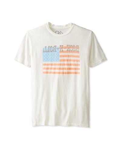 Chaser Men's Rock N Roll Short Sleeve Crew Neck T-Shirt