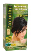 Naturtint Permanent Hair Colorant, 1N- Ebony Black 5.4 fl oz (155 ml)