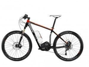 E-Bike Haibike Xduro RC Hardtail 400Wh 10-G SLX mix 45503103 in schwarz/rot metallic Rh 45, 50 oder 55 cm, Rahmenhöhe:45