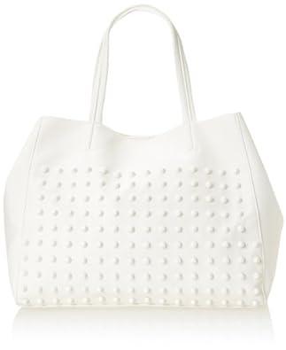 Steve Madden Bcortage Tote Shoulder Bag,Vanilla,One Size