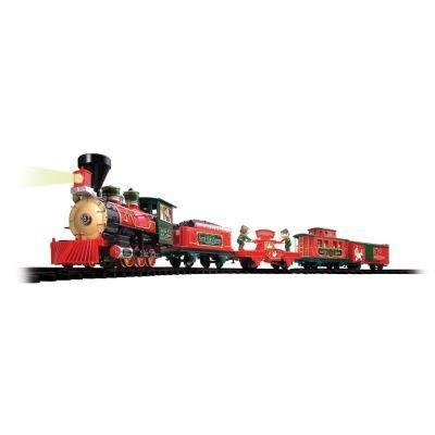 Holiday Santa Express Christmas Train Set, 35