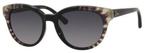 Christian Dior  Christian Dior Tiedye 2/S Sunglasses Flower Black / Gray Gradient