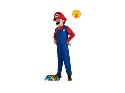 Super Mario Brothers, Mario Costume, Large