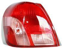 TYC 11 6276 00 Toyota Echo Driver Side Replacement Tail Light Assembly