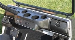 Club Car DS Carbon Fiber Dash