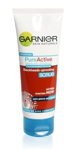 Garnier Pure Active Blackheads Uprooting Scrub 100g