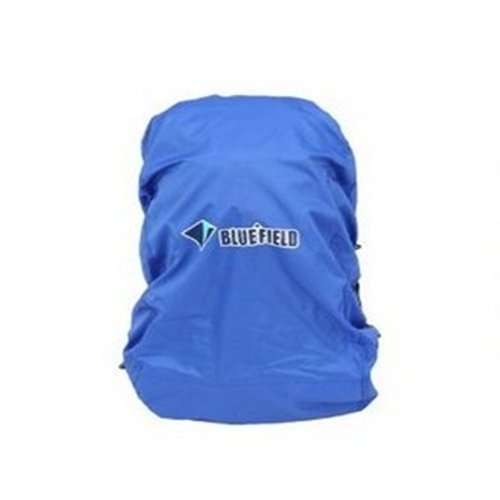 Blue nylon backpack rain cover for hiking camping