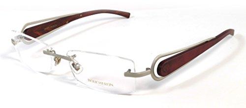 boucheron-unisex-rectangular-rounded-rimless-eyeglasses-silver-wood