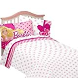Barbie Sweet Silhouette Twin Sheet Set thumbnail