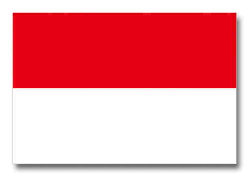 世界の国旗ポストカードシリーズ <アジア> インドネシア共和国 Flags of the world POST CARD <Asia> Republic of Indonesia