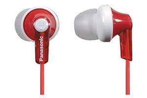 Panasonic RP-HJE120E1R In-Ear-Kopfhörer (3,5 mm Klinkenstecker) rot