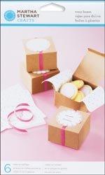 Vintage Girl Treat Boxes 6/Pkg-Kraft