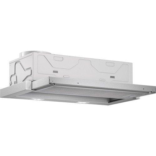 Bosch DFL064A50 Serie 4 Flachschirmhaube / 59,8 cm / Hohe Lüfterleistung / silbermetallic