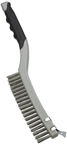 silverline-156914-stainless-steel-wire-brush-with-scraper-3-row