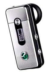 Sony Ericsson HBH-PV740 Bluetooth Headset silber