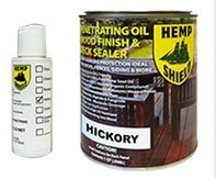 Hemp Shield Wood Finish & Deck Sealer Hickory - 4 pack (Hemp Shield Stain compare prices)