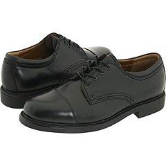 Dockers Men\'s Lace Up Cap Toe Shoes (17 M, Black)