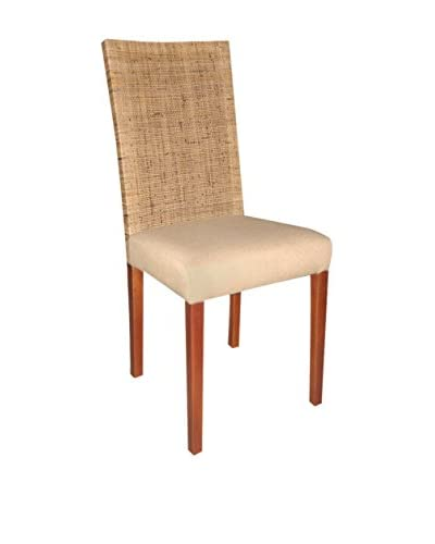 Jeffan Set of 2 Dida Dining Side Chairs, Natural